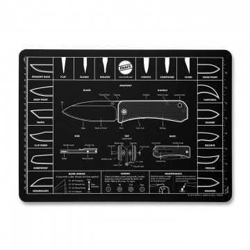 Knife Mouse Pad:  The Knife Mouse Pad is oversized for maximum mousing mobility. The25 × 36 cm size looks great and the 3 mm...