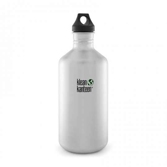 Classic 1,9 L Drinking Bottle:  The bottle that launched Klean Kanteen 10 years ago is now available in 1.9 L! This huge Classic bottle is for long...
