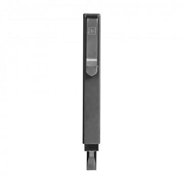Bit Bar Inline Screwdriver:  The Bit Bar Inline is a fully custom designed solid titanium screwdriver with 3 useful grip configurations + hex bit...