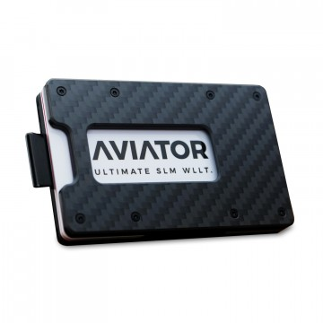 Carbon Slide Wallet:  The Aviator Slide wallet features a pull strap for quick card access. It also comes with a Slim Coin Holder which...