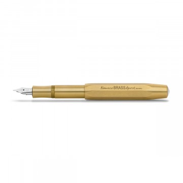 Brass Sport Fountain Pen:  The Brass model of the Sport fountain pen series is made of brass which develops a natural and unqiue patina over...