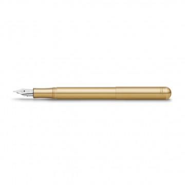 Liliput Brass - Täytekynä:  Liliput on yksi pienimmistä täytekynistä mitä tulet löytämään. Suljettuna ollessaan pituutta on vain 9,7 cm, joten...