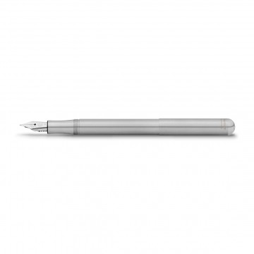 Liliput Stainless Steel Fountain Pen:  The Liliput is one of the smallest fountain pens you can find. Measuring only 9,7 cm when closed, it will fit into...