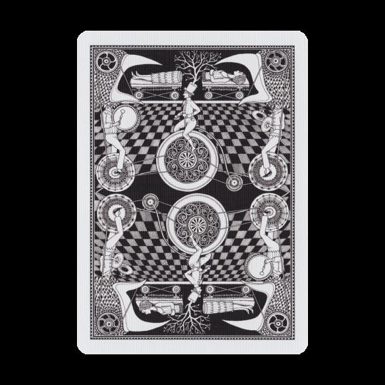 Fantastique - Pelikortit:  Fantastique on kaunis korttipakka, jonka kuvitus on saanut inspiraationsa taikuri Rober-Houdinin ajoilta. Sveta...