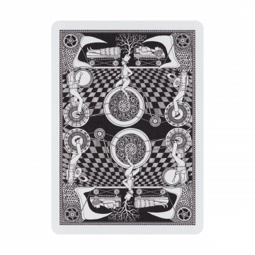 Fantastique Playing Cards:  Fantastique is a beautiful deck of playing cards inspired by the apparatus of magic's golden age and the automatons...