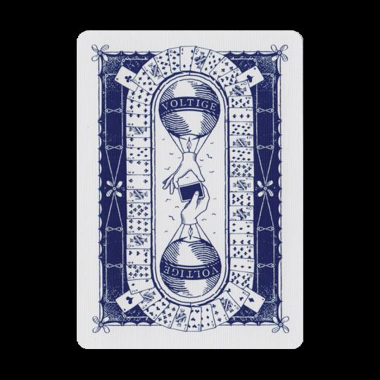 Voltige - Pelikortit:  Henri de Saint Julien ja Jacques Denain suunnittelivat Voltige-korttipakkaa kaksi vuotta. Lopputuloksena saatiin...