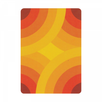 Thick Lines Playing Cards:  Aaron Draplin's Thick Lines reminds you of funky sound and thick lapels.A playful design that almost spits out...