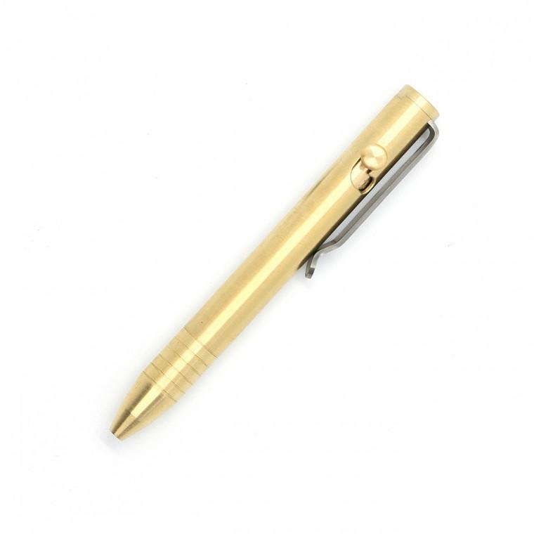 Big Idea Design Brass Mini Bolt Action Pen