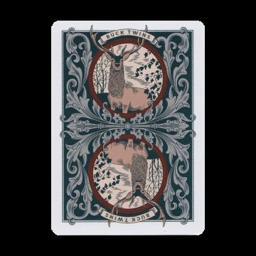 Antler Limited Edition - Pelikortit:  Antler-pelikortit edustavat luonnon majesteettista kauneutta. Korttien design-yksityiskohdat ja Hunter Green -värit...
