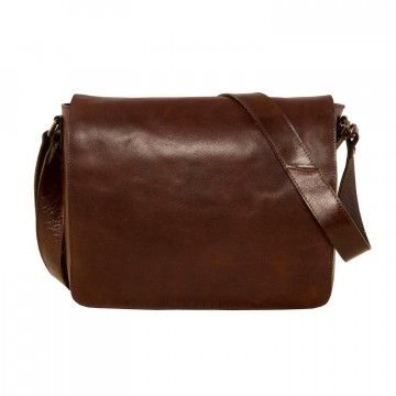 Cambridge M Messenger Bag:  Cambridge is a classy, hande made messenger bag made of full grain leather. You can easily slip a laptop into the...