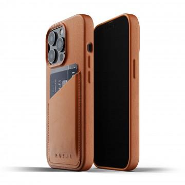 Full Leather Wallet - Suojakansi:  Yksinkertainen mutta nerokas idea joka muuntaa iPhone -puhelimesi lompakoksi - yksi asia vähemmän muistettavaksi...