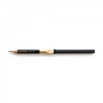 Pencil Extender:   Breathe new life into those nubs you've been saving and prolong the lifespan of your Blackwings with the Blackwing...