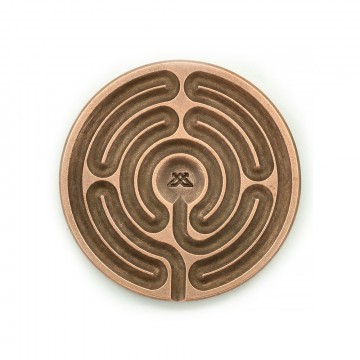 Labyrinth Stone:  The labyrinth can be seen as a symbol of the psyche and of what C. G. Jung called the individuation process: that...