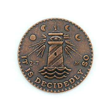 Decision Maker Copper:  If you want to leave something up to fate, the Decision Maker can handle that. The coin is minted in solid copper in...