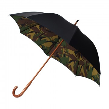 Classic Umbrella:   London Undercover Classic umbrella holds the rain reliably with British class. Mable wood shaft & handle is...