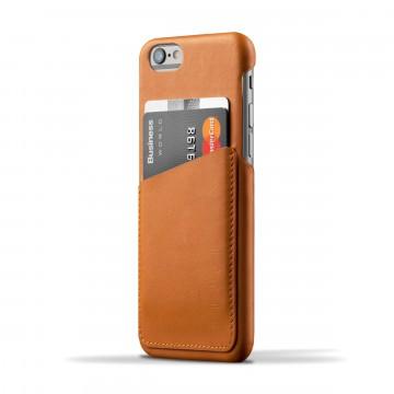 iPhone 6(s) Wallet - Suojakansi:  Tämä nahkainen, ohut suojakansi on juuri oikean kokoinen iPhone 6(s) -puhelimelle ja 2-3 päivittäiselle kortille....
