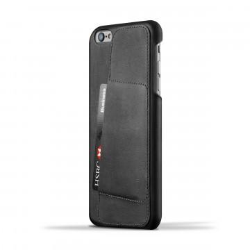 iPhone 6(s) Plus Wallet 80° - Suojakansi:  Mujjon 80° -suojakansi sopii iPhone 6(s) Plus -puhelimelle kuin nakutettu. Ohut profiili, laadukas nahka ja paikka...