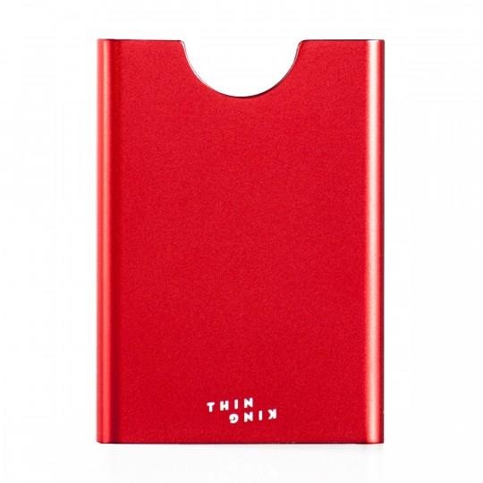 Gordito - Korttikotelo:  Thin King -korttikotelo on suunniteltu 1-6 luottokortin kokoiselle kortille. Kortit pysyvät napakasti kotelossa...