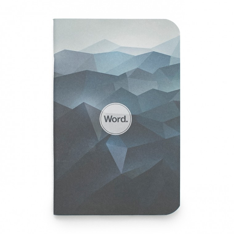 Word. Blue Mountain 3-Pack - Muistivihko