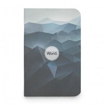 Blue Mountain 3-Pack - Muistivihko:  Blue Mountain -muistivihko näyttää yhtä hyvältä toimiston pöydällä kuin leirinuotion äärellä tähtien alla....