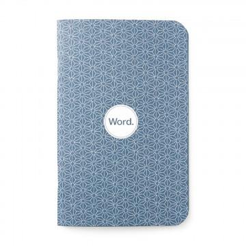 Indigo Star 3-Pack - Muistivihko:  Indigo-kuviota on käytetty paljon vaatteissa ja asusteissa, nyt myös muistikirjan kannessa.Word-muistivihkot...