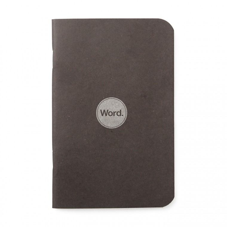 Word. Black 3-Pack - Muistivihko