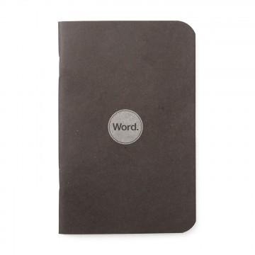 Black 3-Pack - Muistivihko:  Word-muistivihkot helpottavat päiväsi organisointia ja näyttävät komeilta taskussa tai laukussa. Jokaisessa...