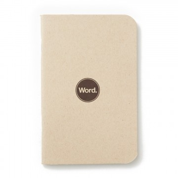 Natural 3-Pack Memo Book:  Word notebooks are designed to help organize your life while looking good in your pocket or bag. Each notebook...