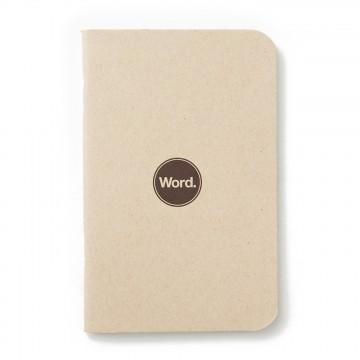Natural 3-Pack - Muistivihko:  Word-muistivihkot helpottavat päiväsi organisointia ja näyttävät komeilta taskussa tai laukussa. Jokaisessa...
