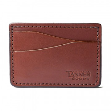 Journeyman Card Case:  Cut from 100 g Natural Tooling leather, the Journeyman features four card slots and one central pocket for you to...