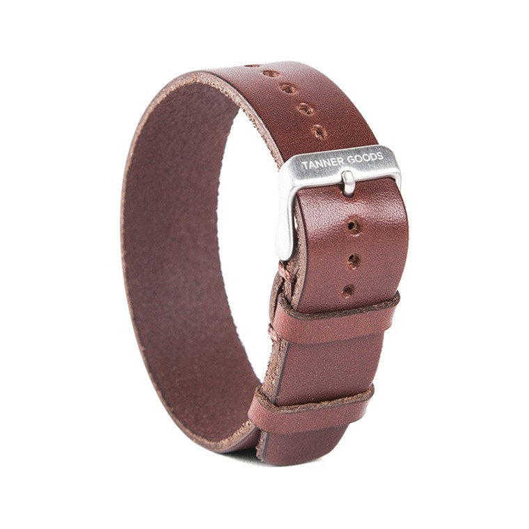 Tanner Goods Single Pass English Bridle  Watch Strap
