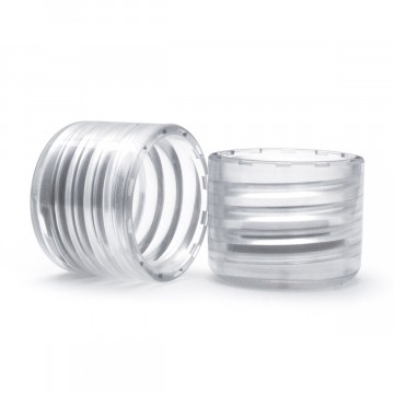 Memo-Lid 2-Pack:  Replacement lids for Memobottle drinking bottles.