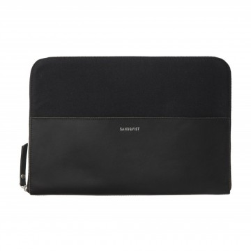 "Morton 13"" Laptop Sleeve:  The heavy cotton canvas and the smooth lining secures the 13"