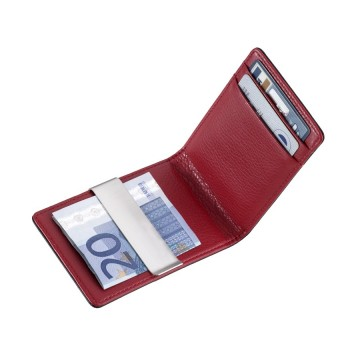 Duo Leather CCC Card Case:  Timeless, elegant and versatile card case with money clip - perfect for business and leisure. This case also has one...