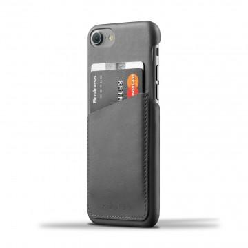 iPhone 8/7 Wallet - Suojakansi:  Tämä nahkainen, ohut suojakansi on juuri oikean kokoinen iPhone8/7 -puhelimelle ja 2-3 päivittäiselle kortille....