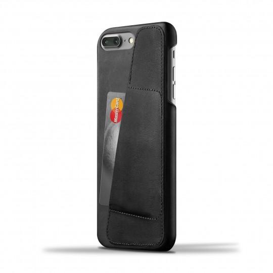iPhone 7 Plus Wallet 80° - Suojakansi:  Mujjon 80° -suojakansi sopii iPhone 7 Plus -puhelimelle kuin nakutettu. Ohut profiili, laadukas nahka ja paikka 2-3...