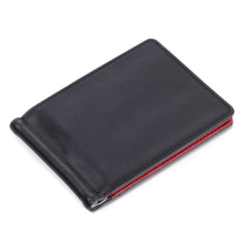 Duo Leather MYC Wallet:  Thin wallet, which however, can hold an impressive amount of stuff. 6 card slots and money clip. One exterior slot,...