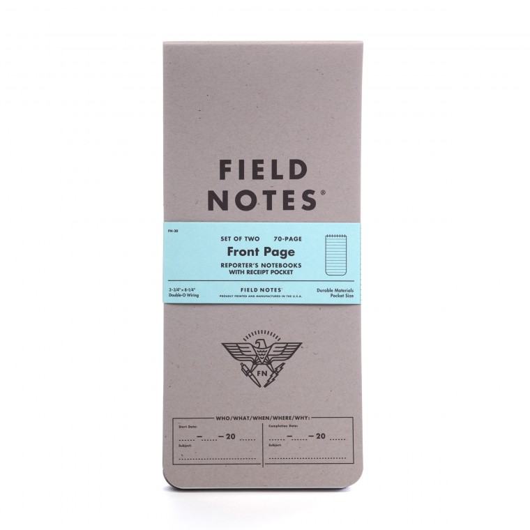 Field Notes Front Page 2-Pack Memo Book
