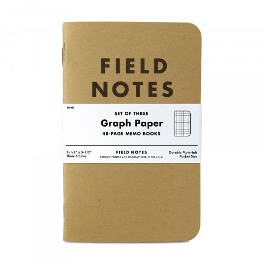 Kraft 3-Pack Memo Book:  3-pack of 48-page honest memo books worth filling up good information. Field Notes Kraft memo books fit in your...