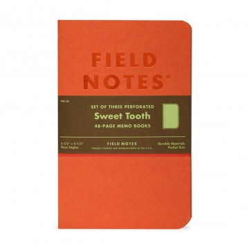 Sweet Tooth 3-Pack Memo Book:  Each Sweet Tooth memo book is a solid block of bright color all the way through. The body pages are plain, and...