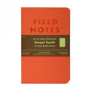 Sweet Tooth 3-Pack - Muistivihko:  Jokaisen Sweet Tooth -muistivihkon raikas väri jatkuu kauttaaltaan kansista paperiin. Sivut on rei'tetty juuri...