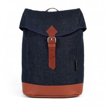 Waris Backpack:  Waris backpacks by Costo are made of premium quality 100% recycled denim. The slot inside holds laptop comfortably....