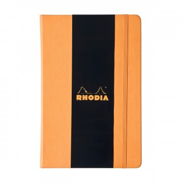 Webnotebook A5 -  Rhodia Webnotebook is for those who expect quality and high class materials...
