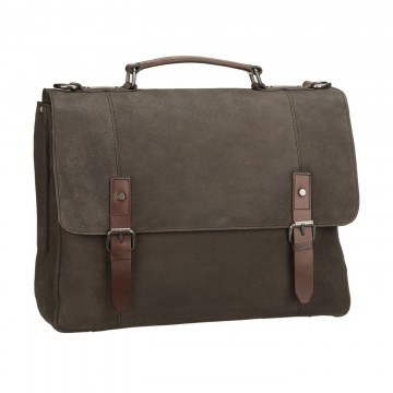 Hudson Briefcase:   Designed for business use, high quality Hudson briefcase has a padded slot for laptops up to 32 × 22 × 2,5 cm....