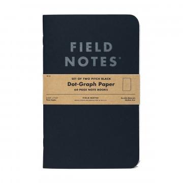 Pitch Black Large 2-Pack - Anteckningsbok:  Field Notes har gjort anteckningsböcker i 10 år nu, och – med några få undantag – har de alltid passat i fickan. Nu,...