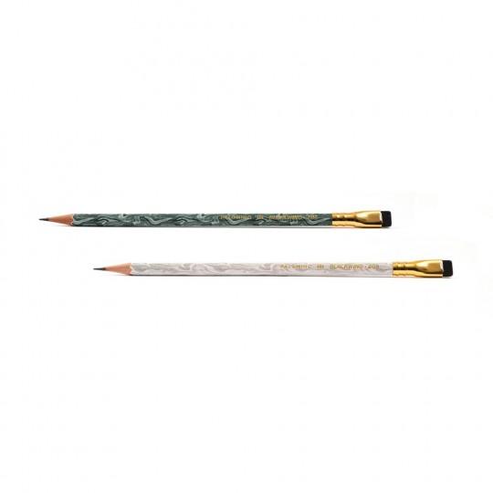Blackwing 205 12-Pack - Lyijykynät:  Blackwing 205 -kynät ovat saaneet inspiraationsta jadesta, joka oli yksi tärkeimmistä Silkkitien kauppatavarasta....