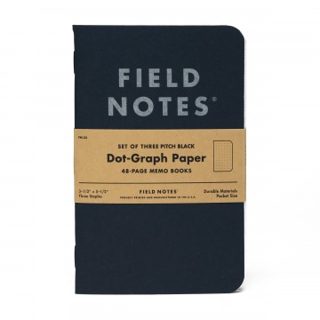 Pitch Black 3-Pack Memo Book -  Have you heard about