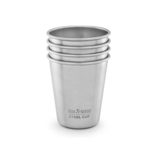 Steel Cup 296 ml 4-Pack - Kuppi