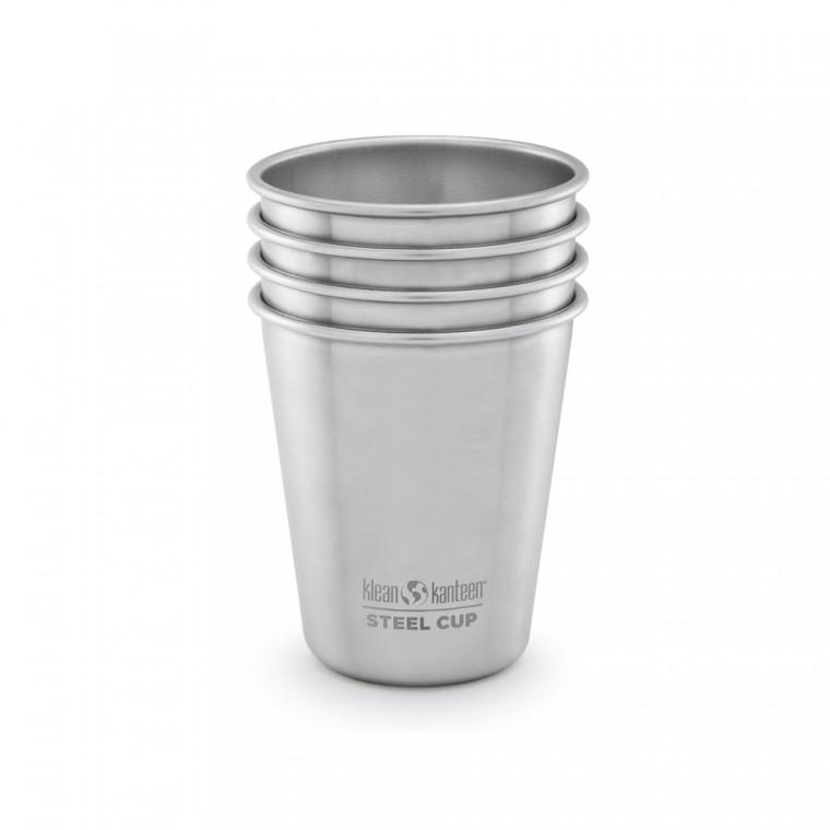Klean Kanteen Steel Cup 296 ml 4-Pack - Kuppi