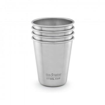 Steel Cup 296 ml 4-Pack - Kuppi:  Steel Cup on ruostumattomasta teräksestä valmistettu 296 millilitran kuppi, joka soveltuu mainiosti niin retki- kuin...